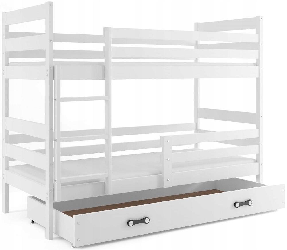 Двухъярусная кровать ERYK Jacek 190x80 + матрасы цвета