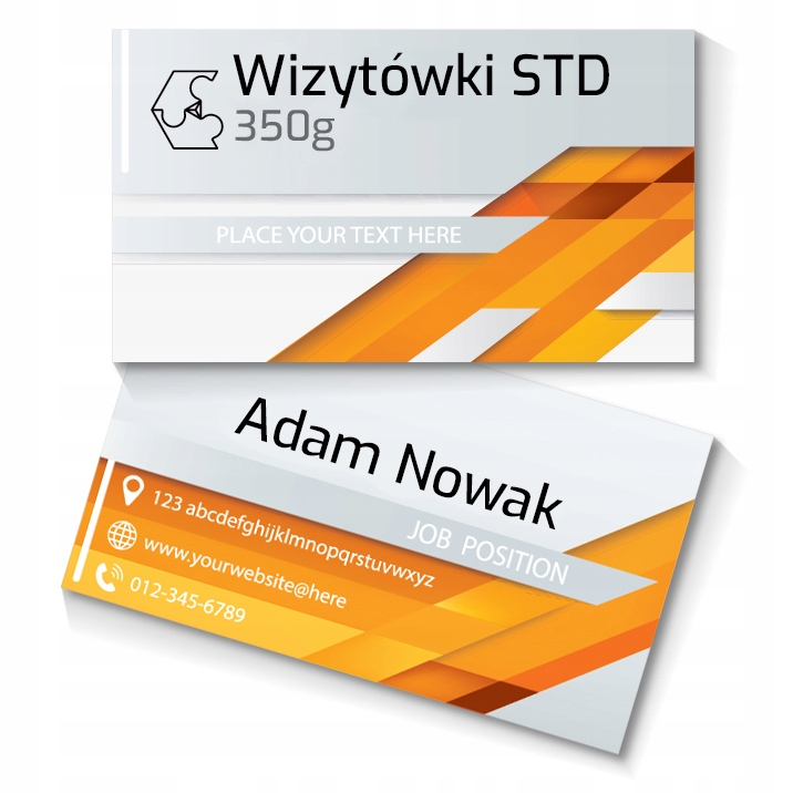 Item Business CARDS 100pcs 350g CHECKED BEFORE PRINTING