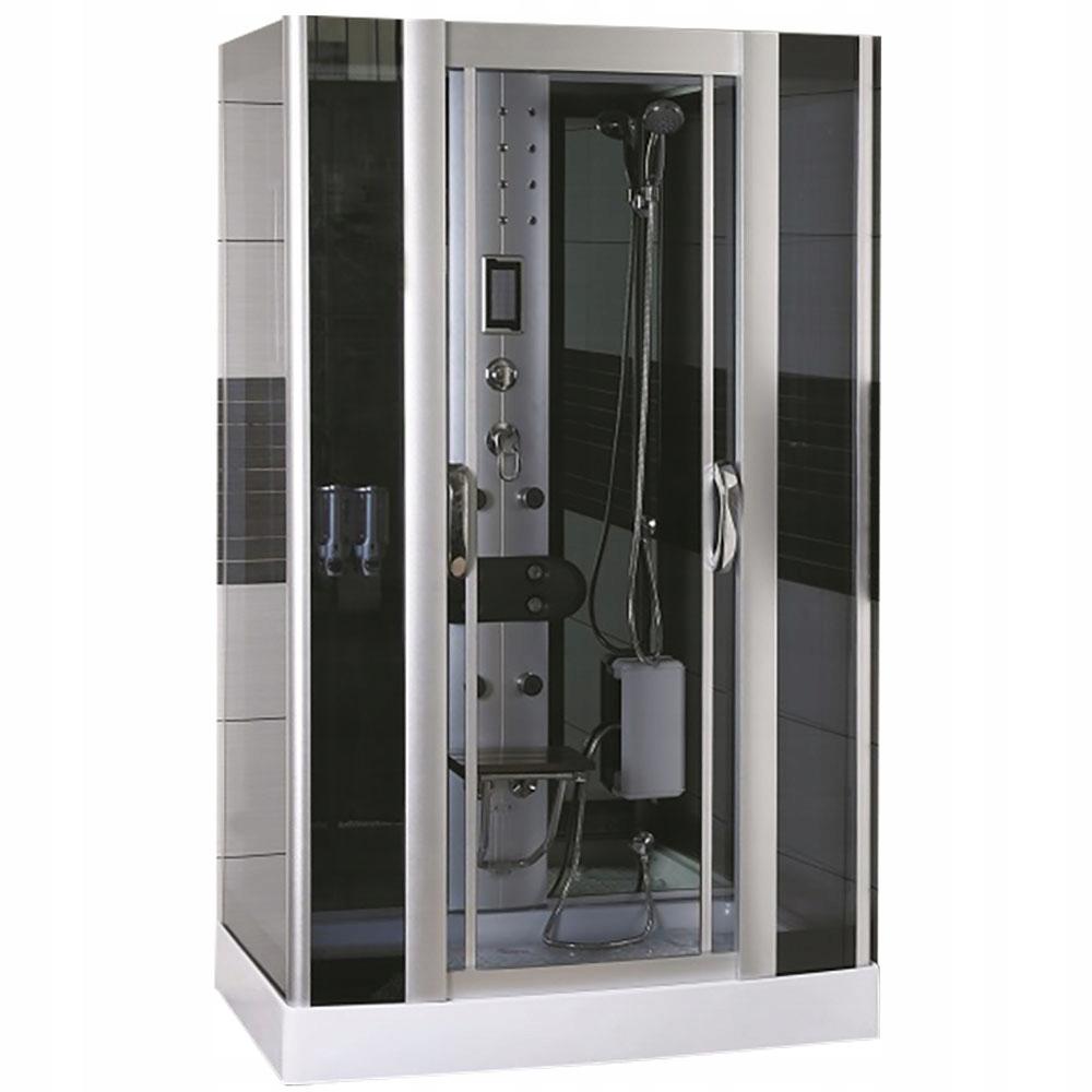 125x90 Kabina prysznicowa hydromasażem MO-09938B