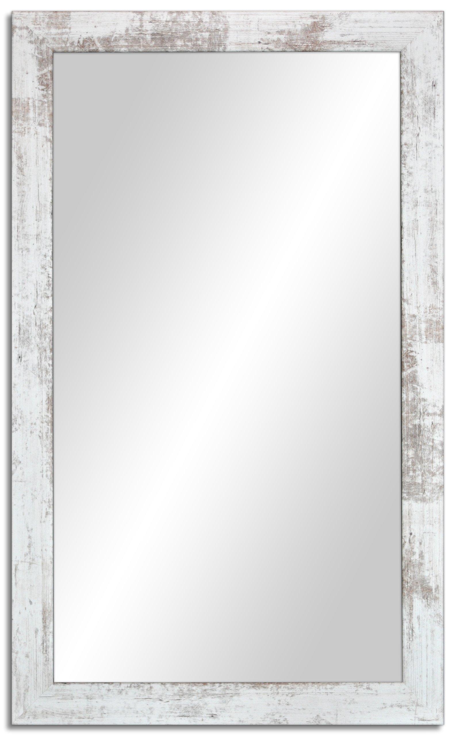 Купить Зеркало в стиле потертый 90x70 см скандинавский на Otpravka - цены и фото - доставка из Польши и стран Европы в Украину.