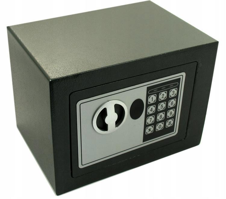 сейф на шифр ключик шкатулка на деньги большой