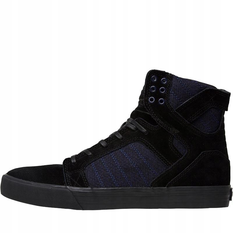 SUPRA Skytop - новая мужская обувь, кожа/ткань 44,5