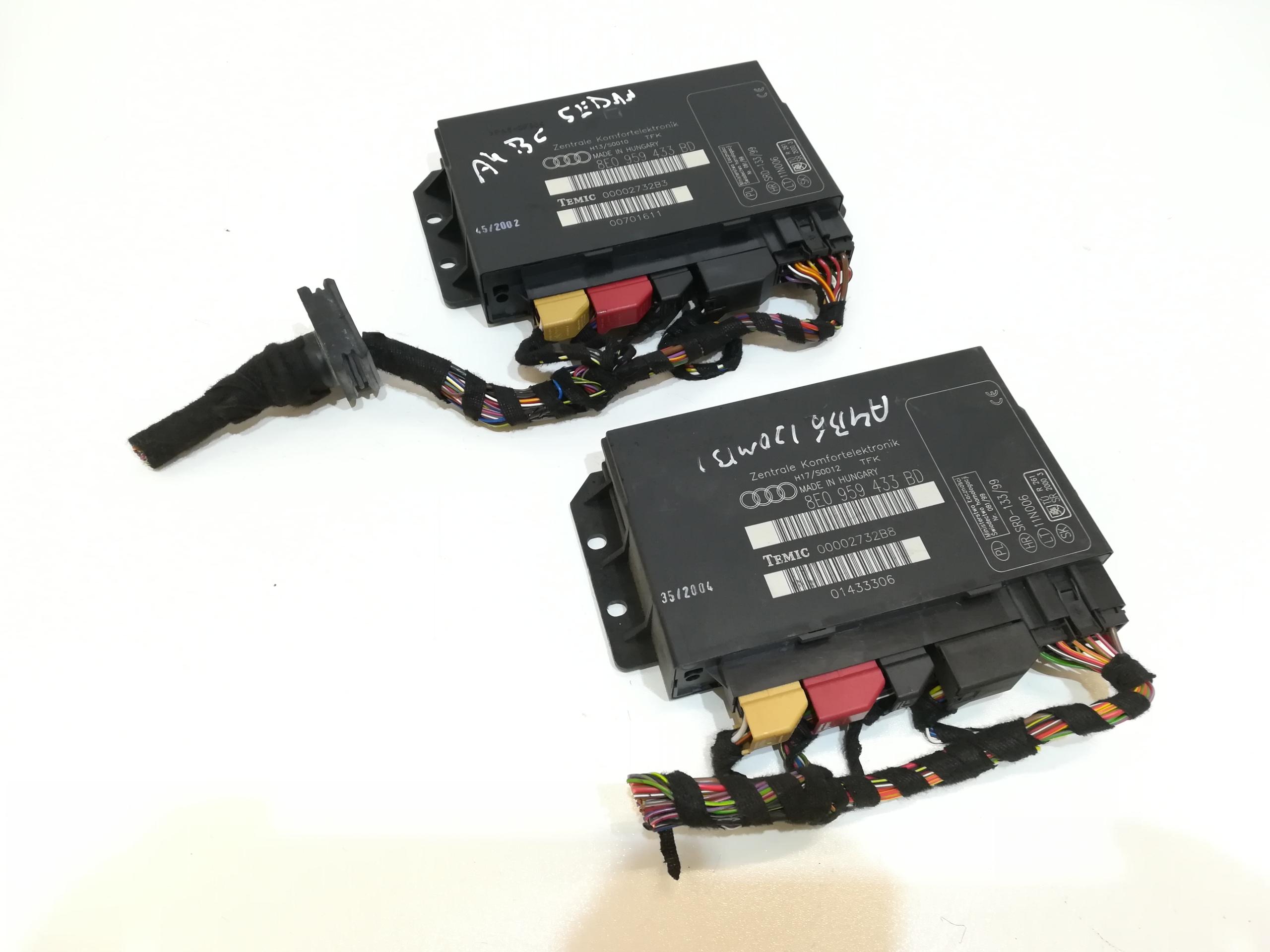 модуль комфорта компьютер audi a4 b6 b7