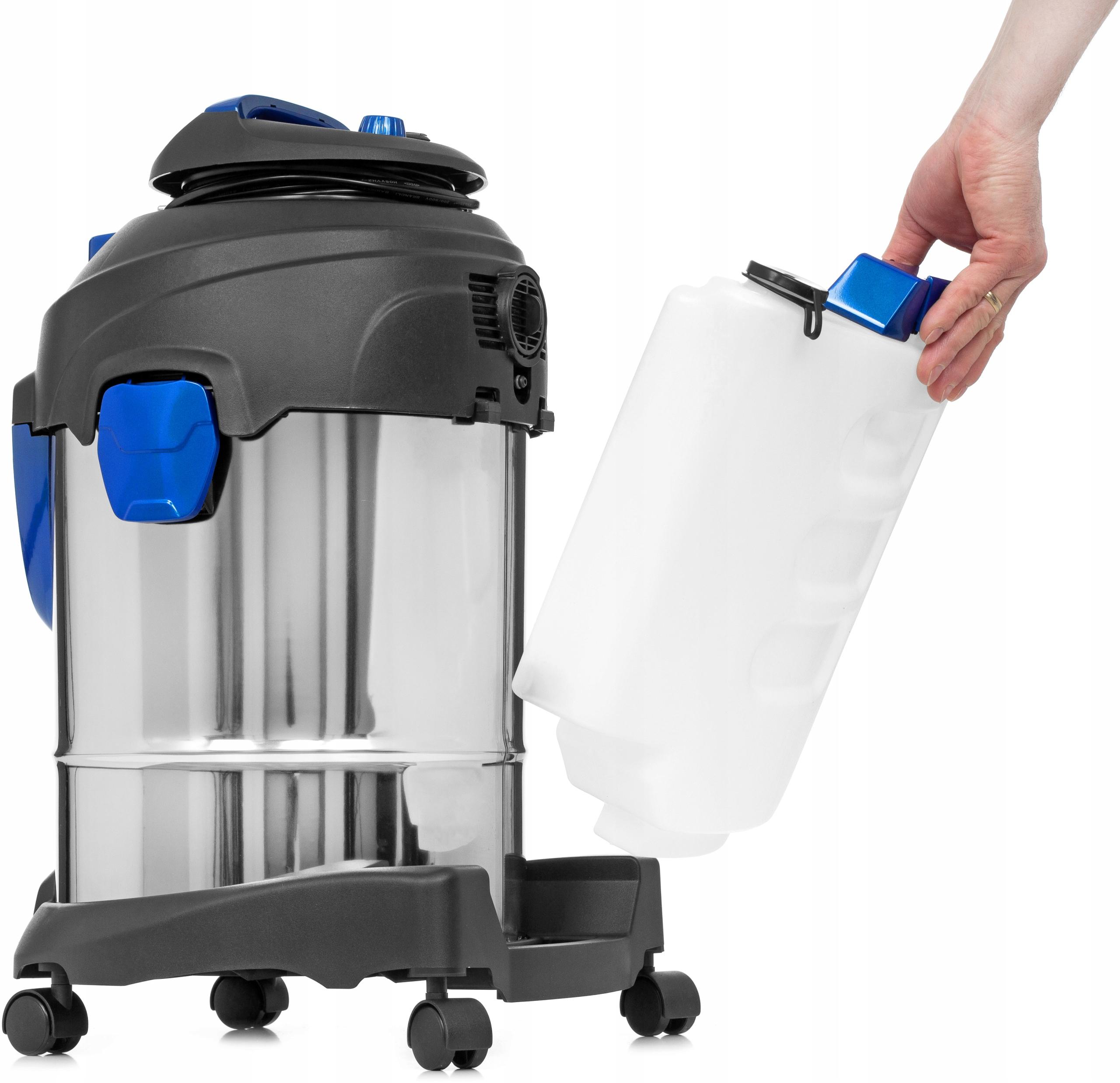 PROFESJONALNY ODKURZACZ PIORĄCY ZESTAW 10w1 GIGANT Pojemność zbiornika na czystą wodę 3.5 l