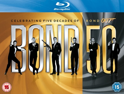 Item James bond: Bond 50 [Blu-ray]