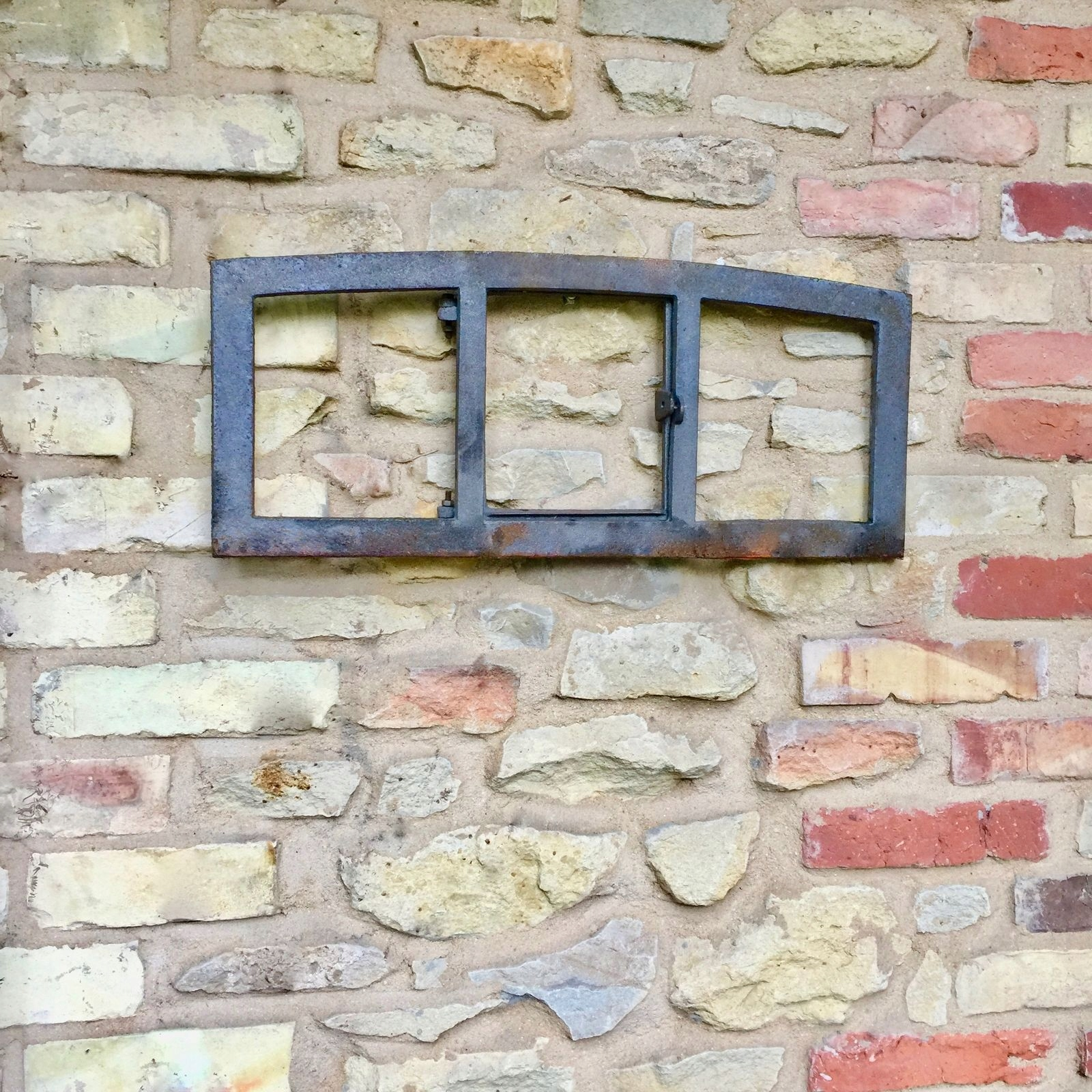 NOVÉ okno liatiny retro veľké 27x63cm