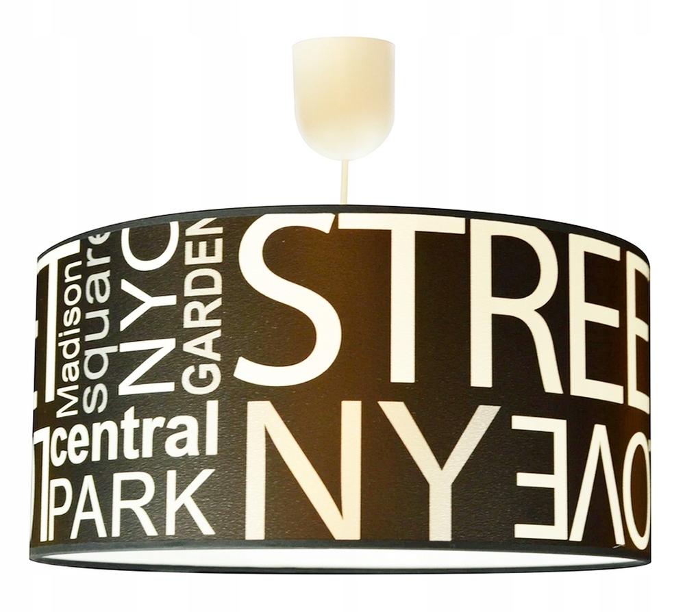 Tienidlo CENREAL PARK, STREET NYLOVE Tienidlo na lampu 35cm