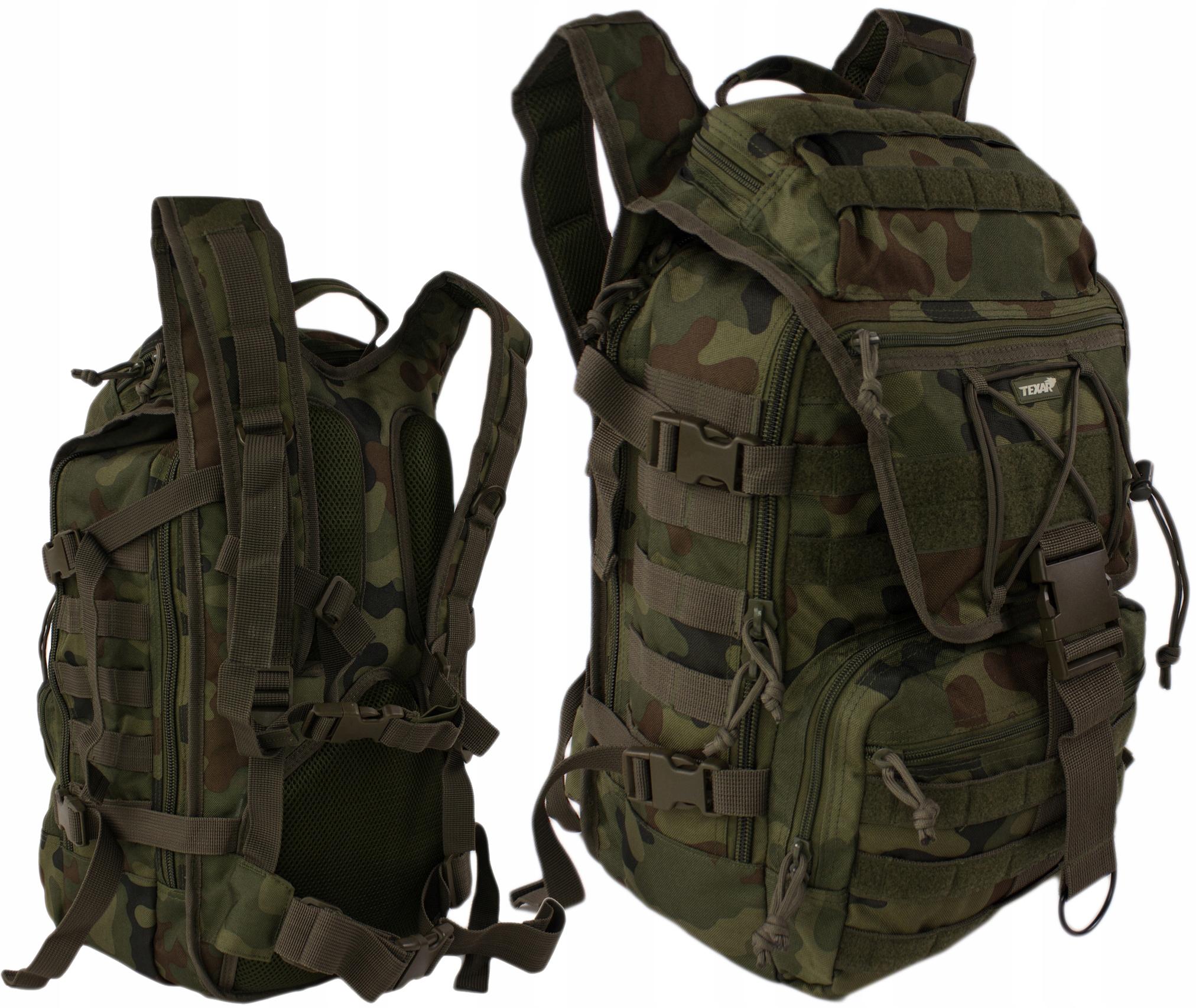 Vojenský Batoh Taktické Texar Hunter Camo Wz2010