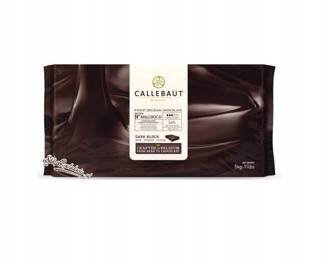 Tmavá čokoláda Callebaut MALCHOC-D 5 kg