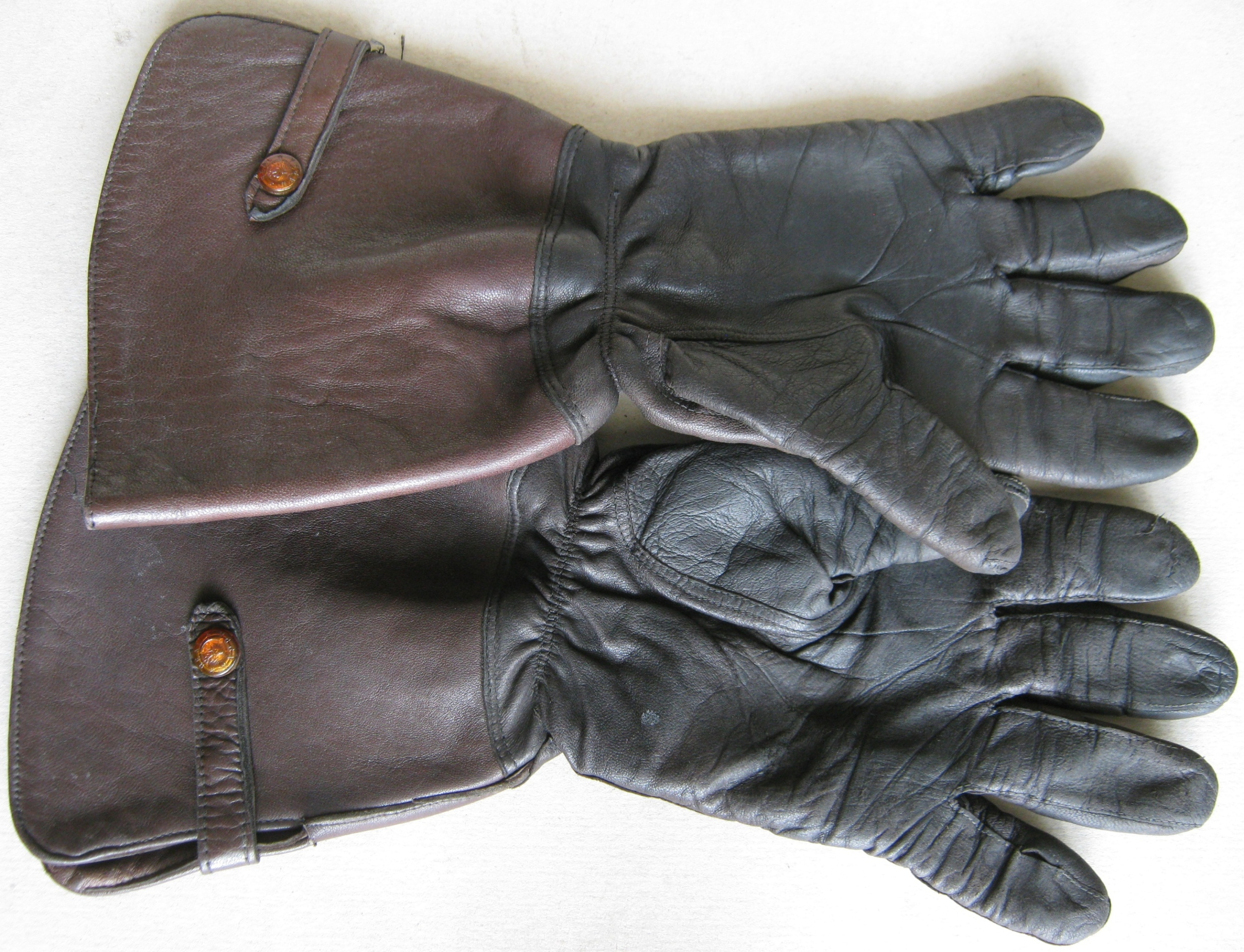 Picture of ENGLISH VERSION GLOVES MOTORCYCLES - REAL NAPPA 1930