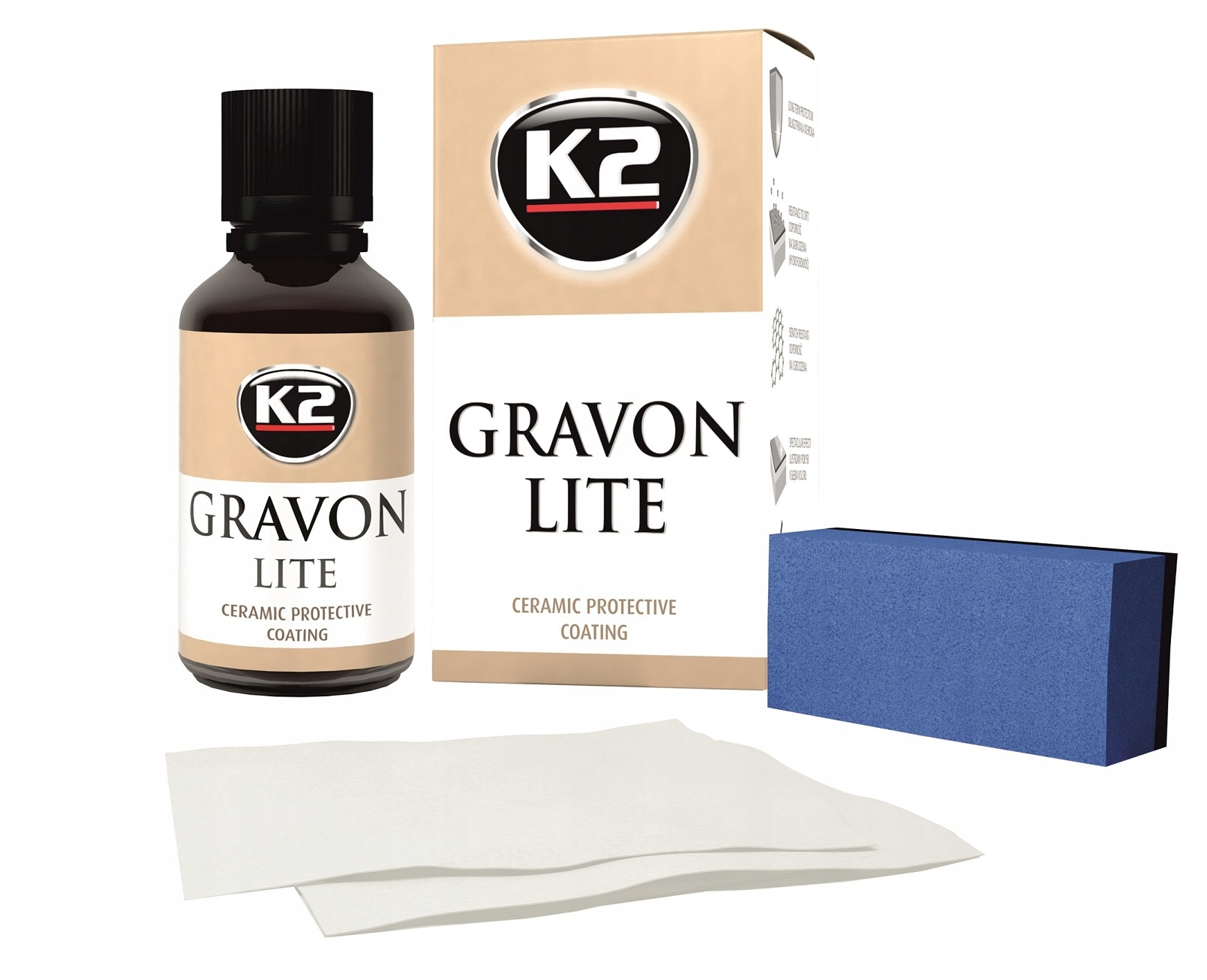 Item Ceramic coating K2 GRAVON LITE, protection paint coating