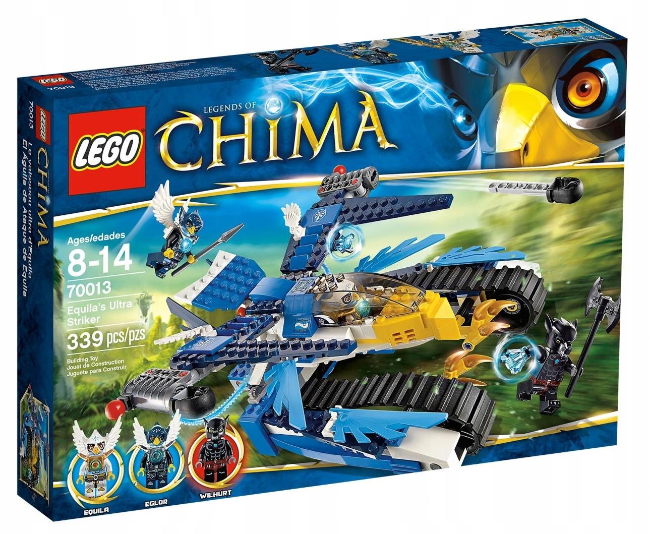 Lego Chima Eagle Equili Striker 70013 | Nakupovať