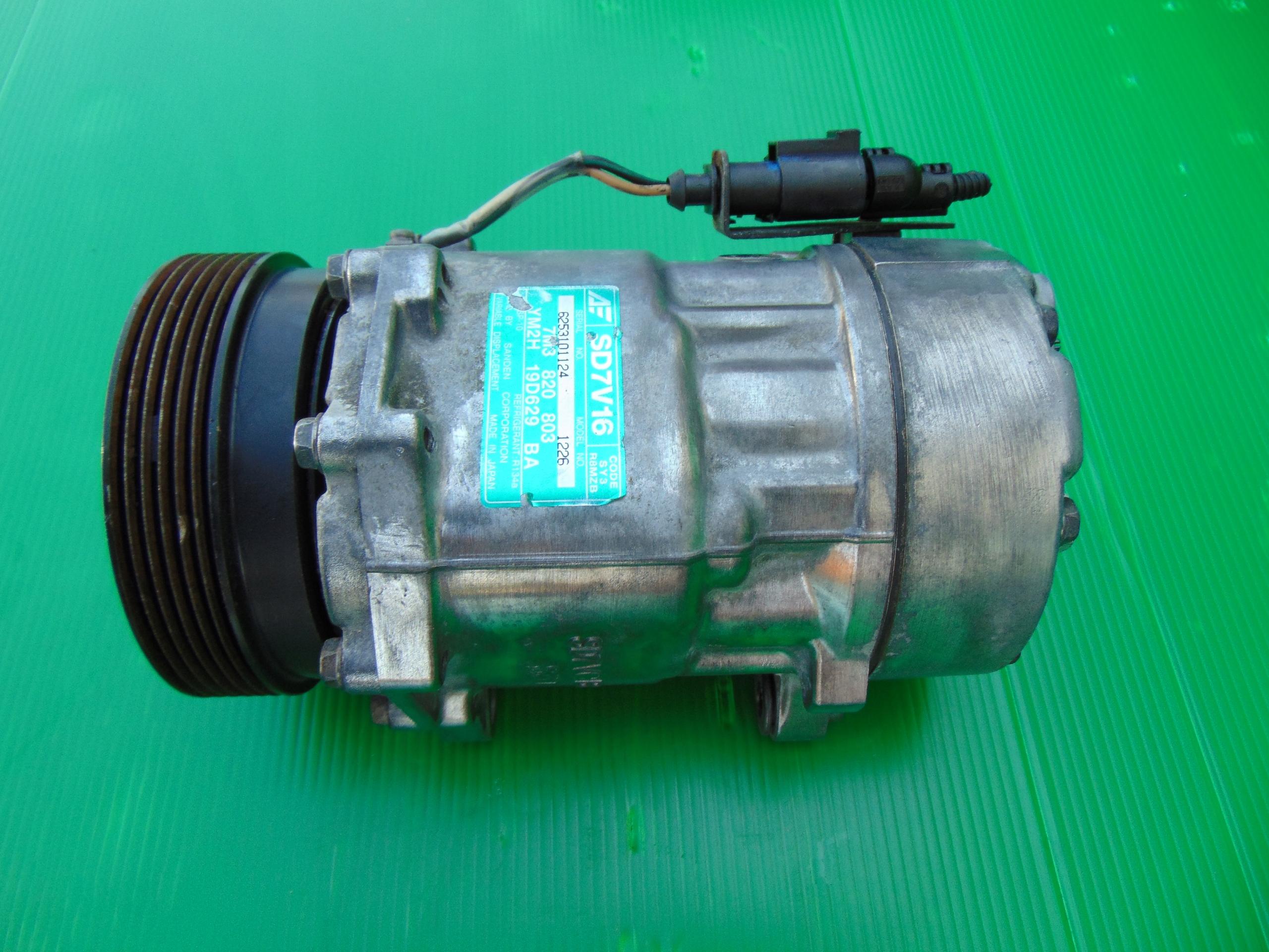 компрессор компрессор кондиционирования воздуха 1 9tdi 7m3820803