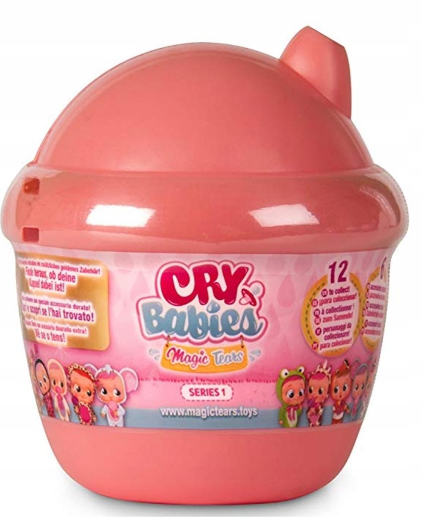 CRY BABIES MAGIC TEARS MINI DOLL SALMON HOUSE