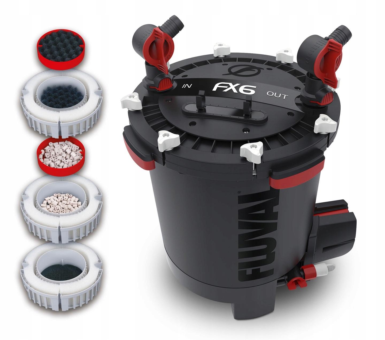 FLUVAL fx6 внешний фильтр 2300 л / ч + + + бесплатные! Ширина 20 см