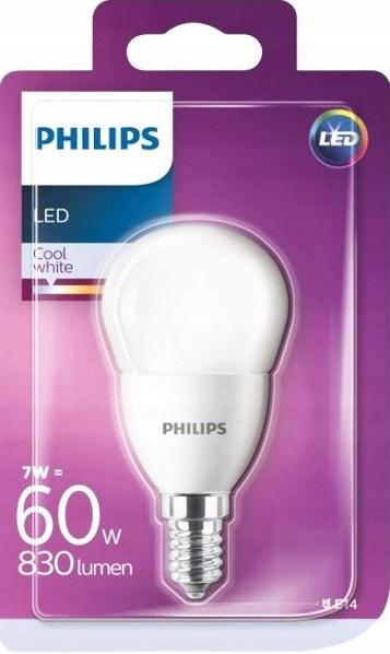 Купить Светодиодная лампа KULKA E14 7W 60W PHILIPS 4000K 230V FR на Otpravka - цены и фото - доставка из Польши и стран Европы в Украину.