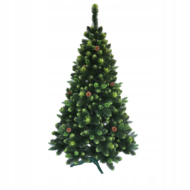 Umelý vianočný stromček, Victoria Green Pine - 180 cm