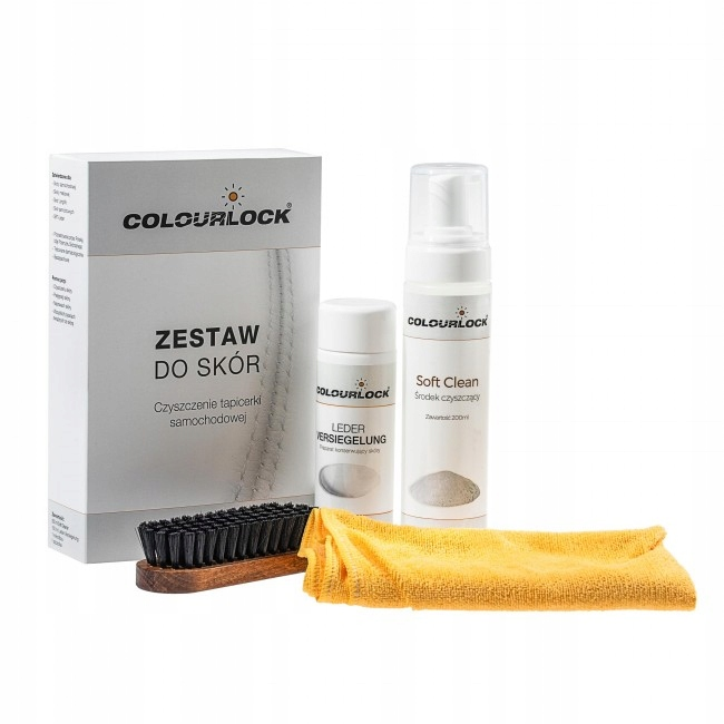Набор для чистки кожи Colourlock SOFT