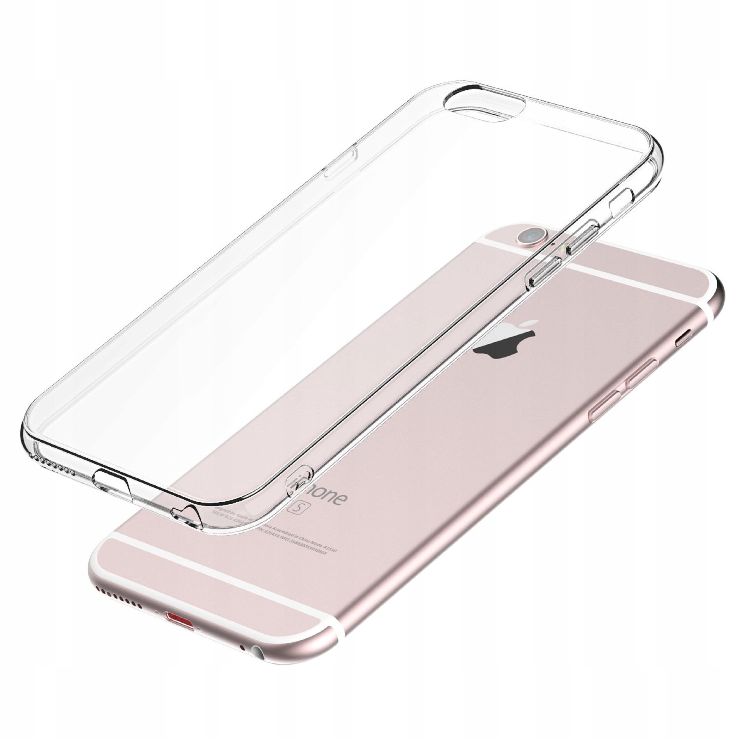 Ultra SLIM CASE TRANSPARENT for IPHONE 6 6S fargeløs