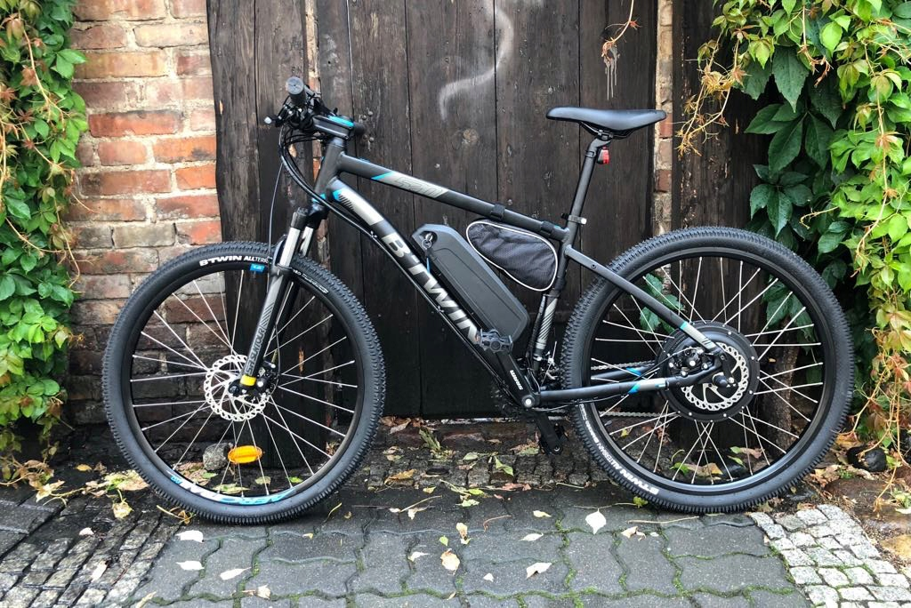 E-bike 48v 1500watt je najvýkonnejší batérie 20.4 Ah!!