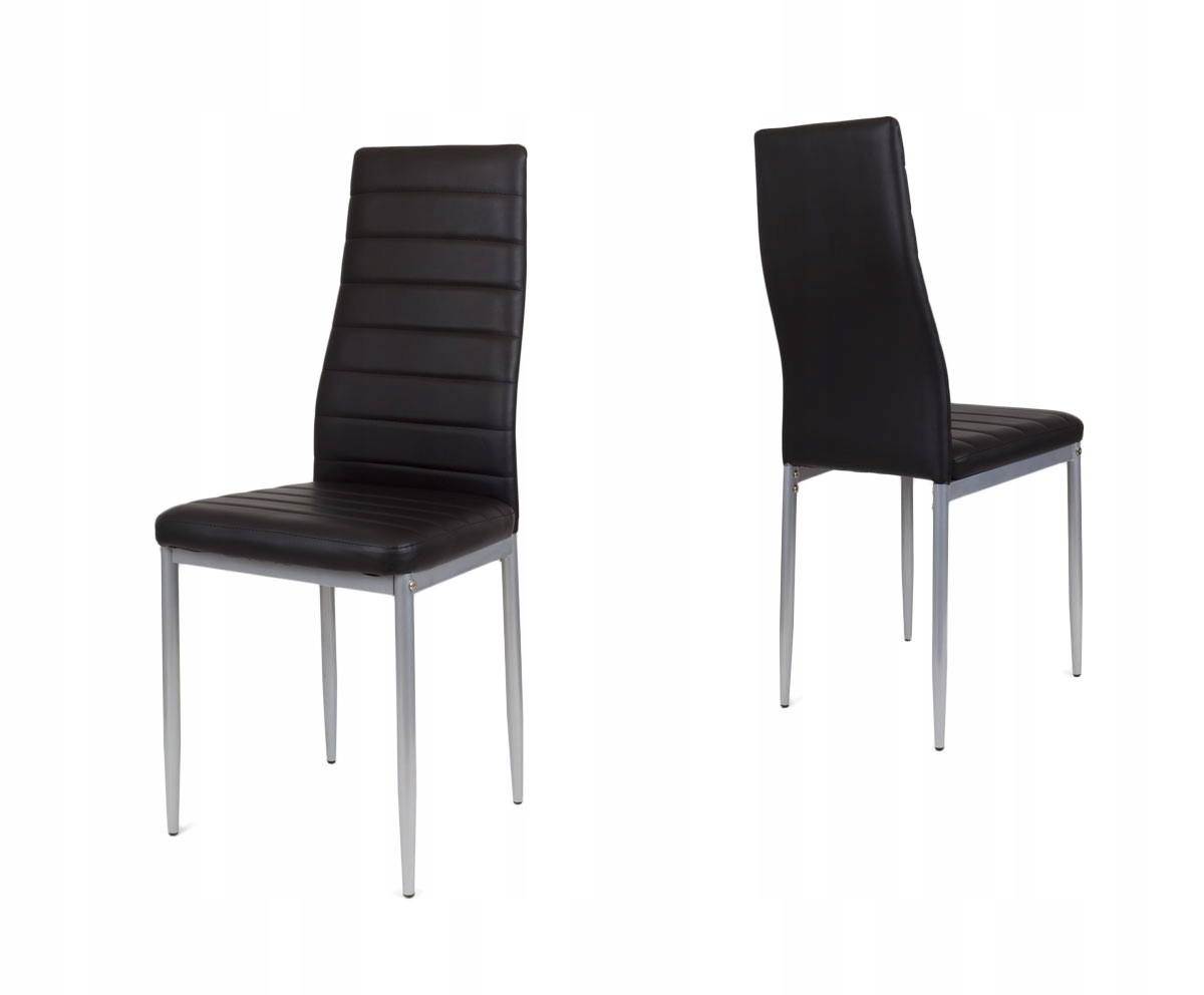 черные стул ??? столовой Экокожа KS001 CZ mal