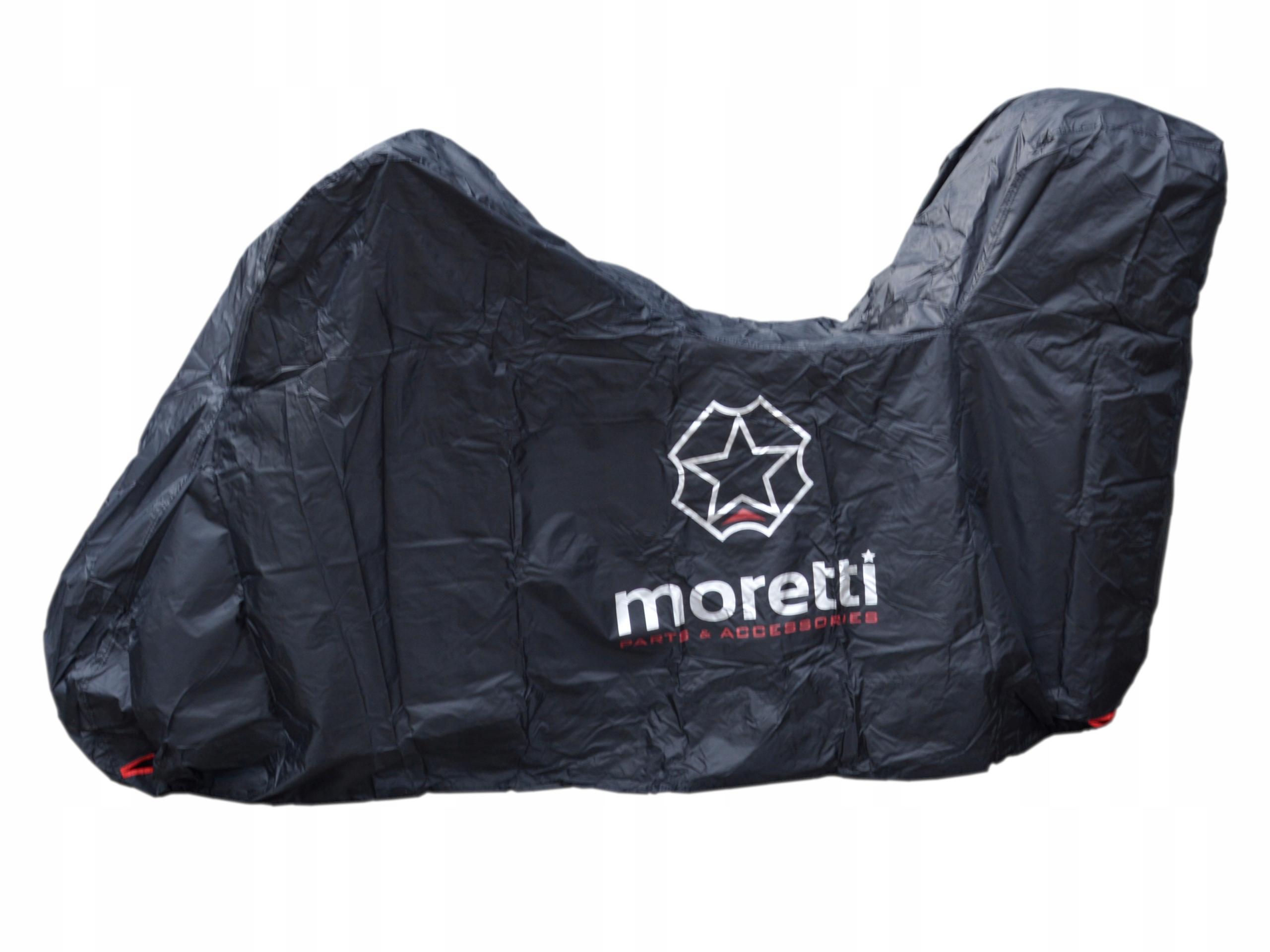 Чехол для мотоцикла MORETTI XL с мотоциклом KUFREM
