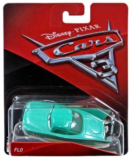 Autá C Disney Pixar Mattel Radiátor Lola Flo