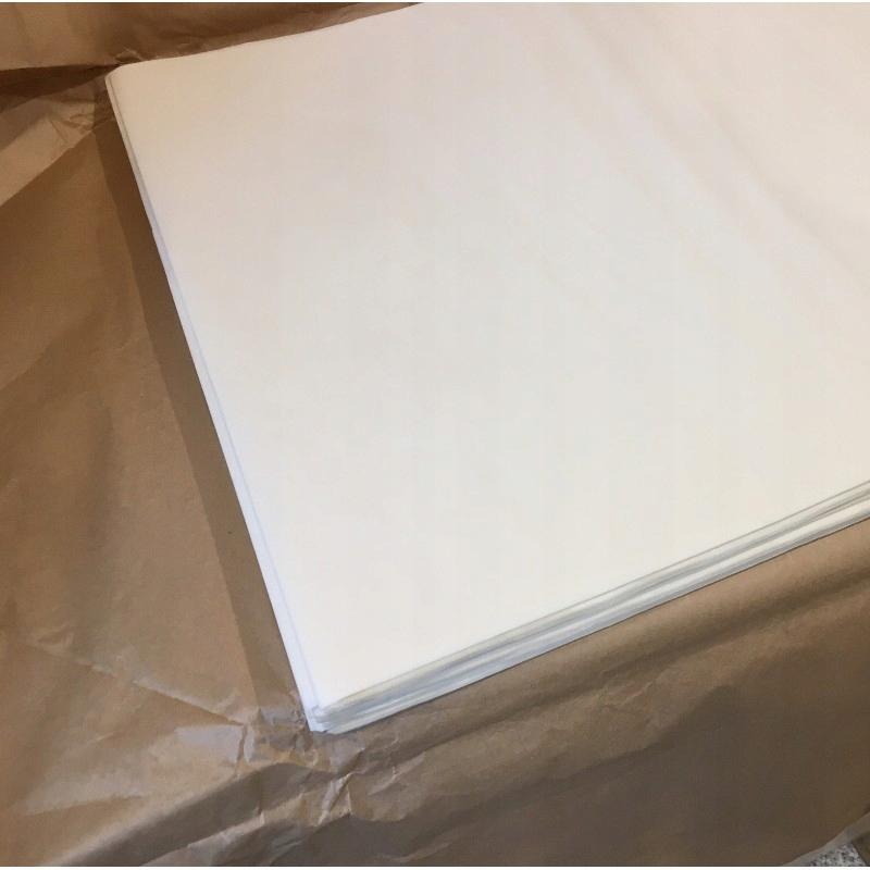 Бумага для выпечки белая 60/40 силикон 500 листов.