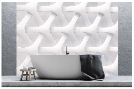 Umývateľný panel na stenu kúpeľňa 90x300cm Lesk
