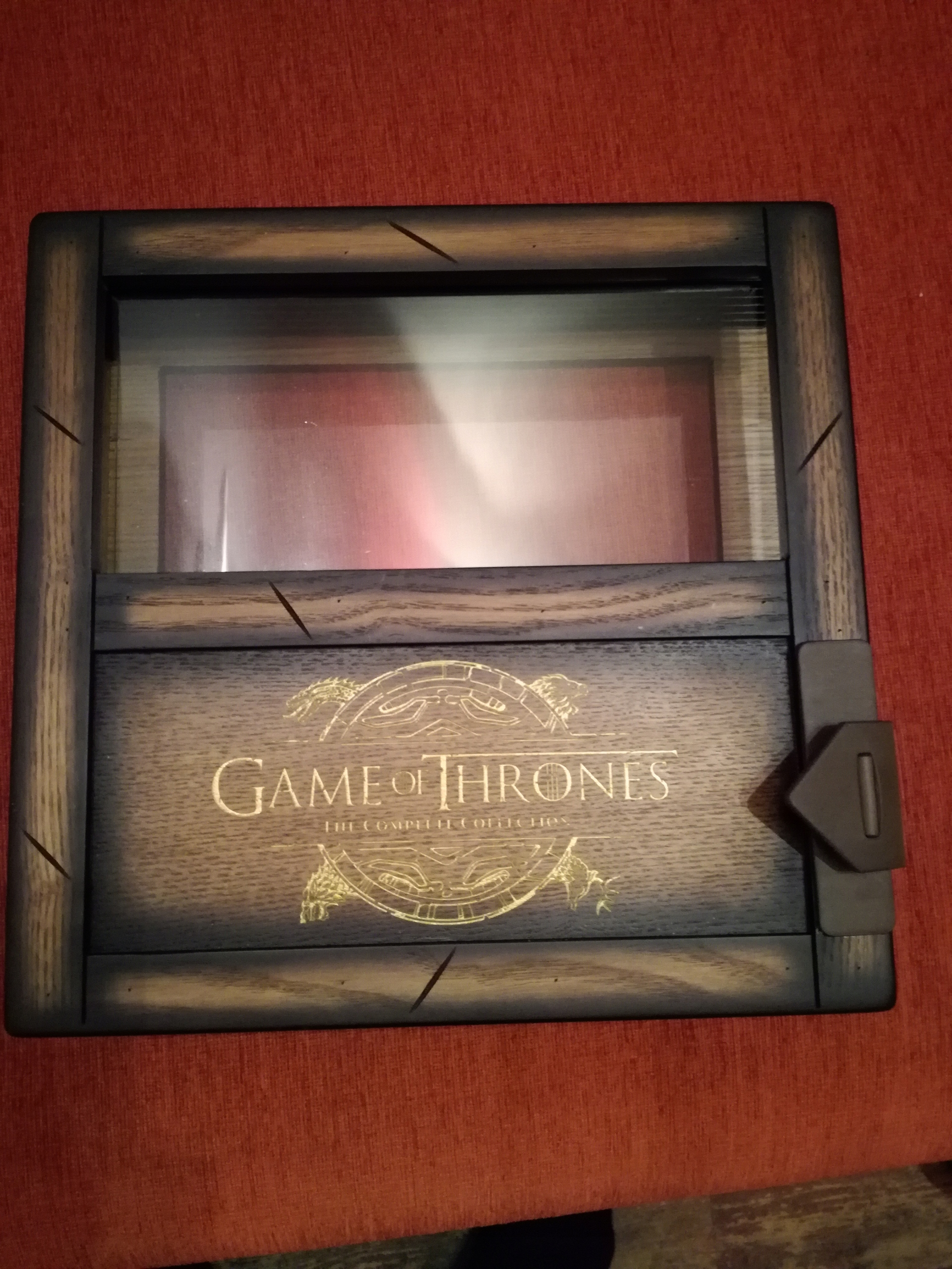 Item Game of thrones Box version-collectible