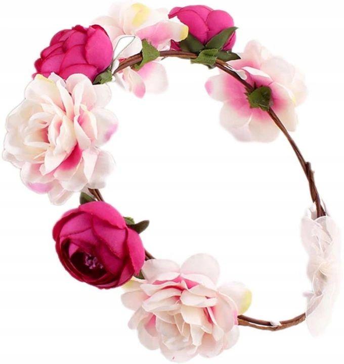 Item Wreath hair FLOWERS boho peonies peony roses