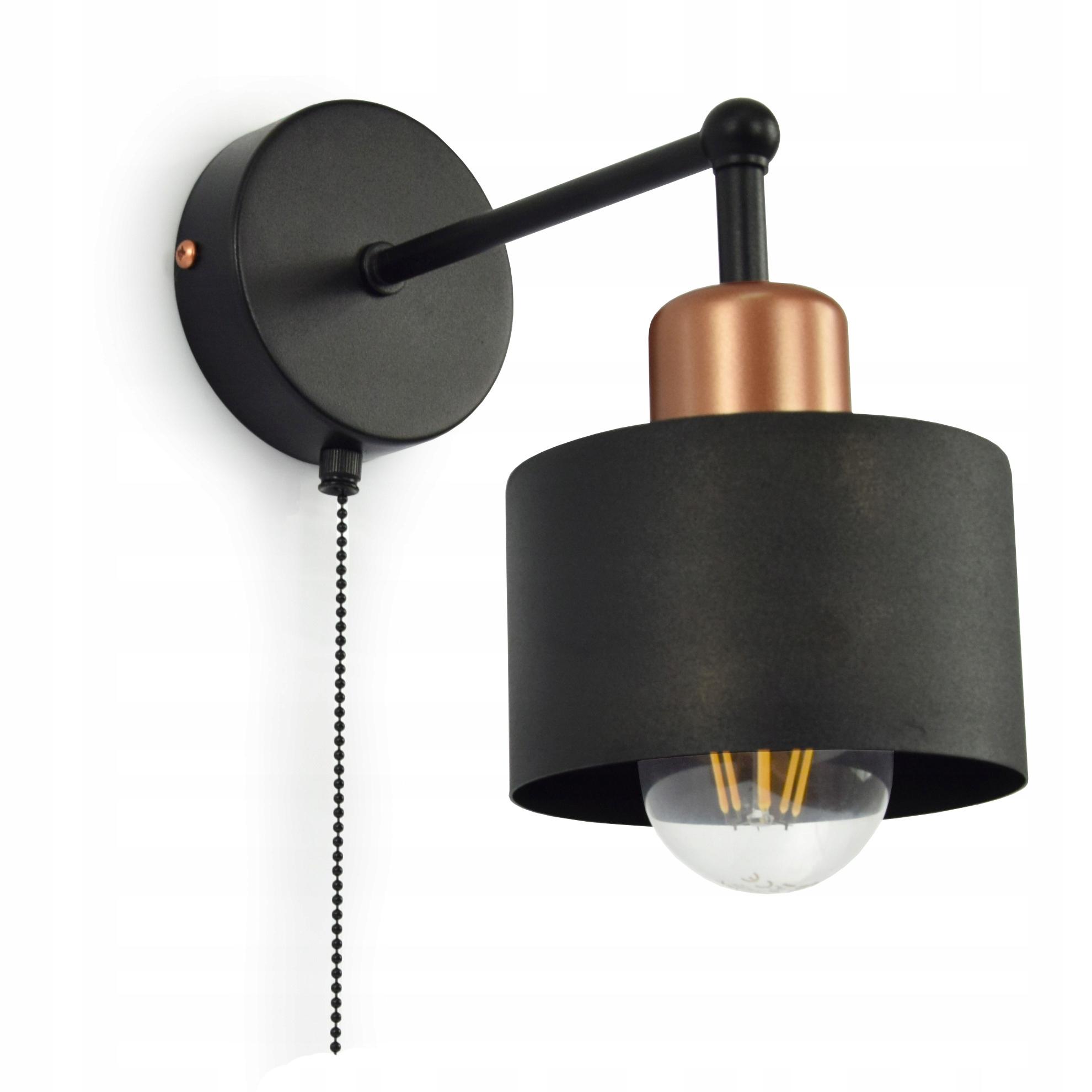 Lampa Scienna Kinkiet Loft Edison Led E27 382 Kw1 7665376172 Allegro Pl