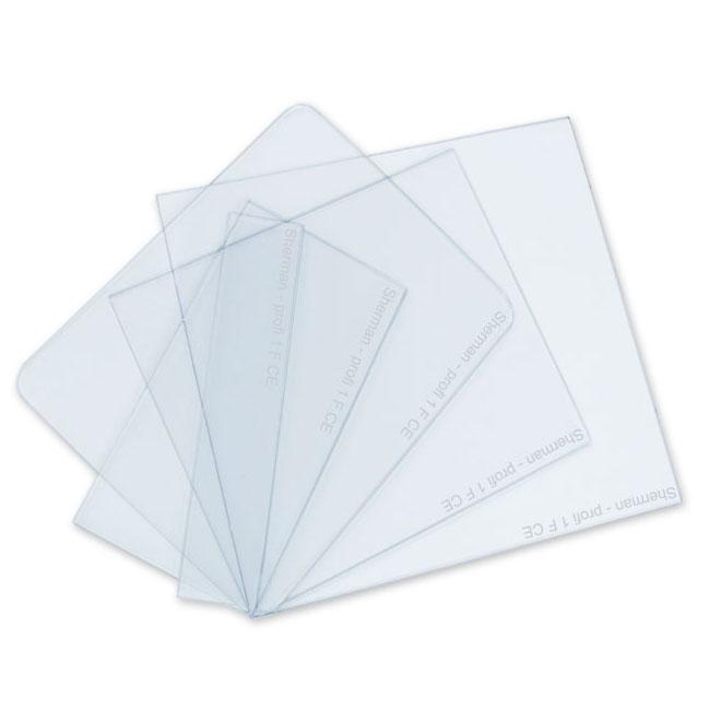 Rýchly polykarbonátový PVC filter pre masku 90x110
