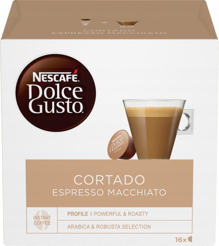 Dolce Gusto Cortado Espresso Macchiato 16 капсул