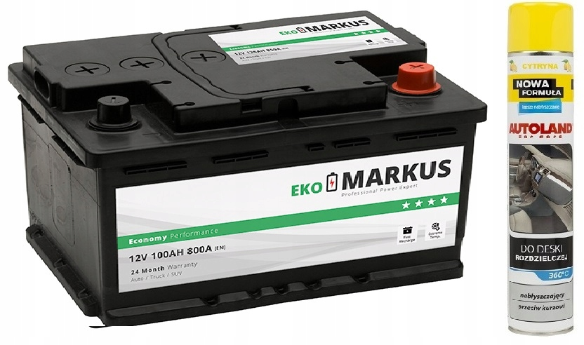 аккумулятор маркус эко 100ah 800a 90ah + autoland