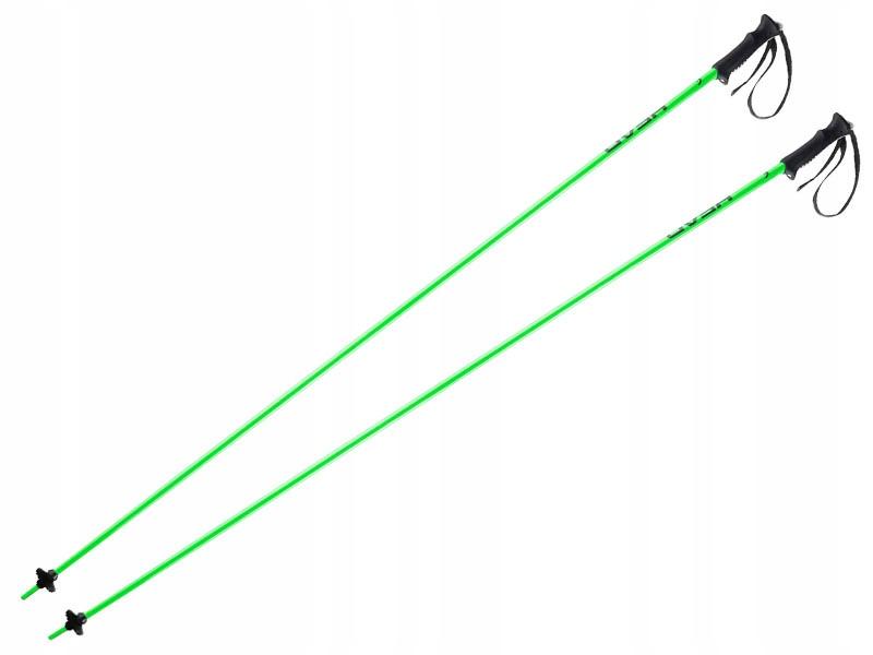 Lyžiarske palice Hlavu Klasické Neon Zelená -60 % R 135 cm