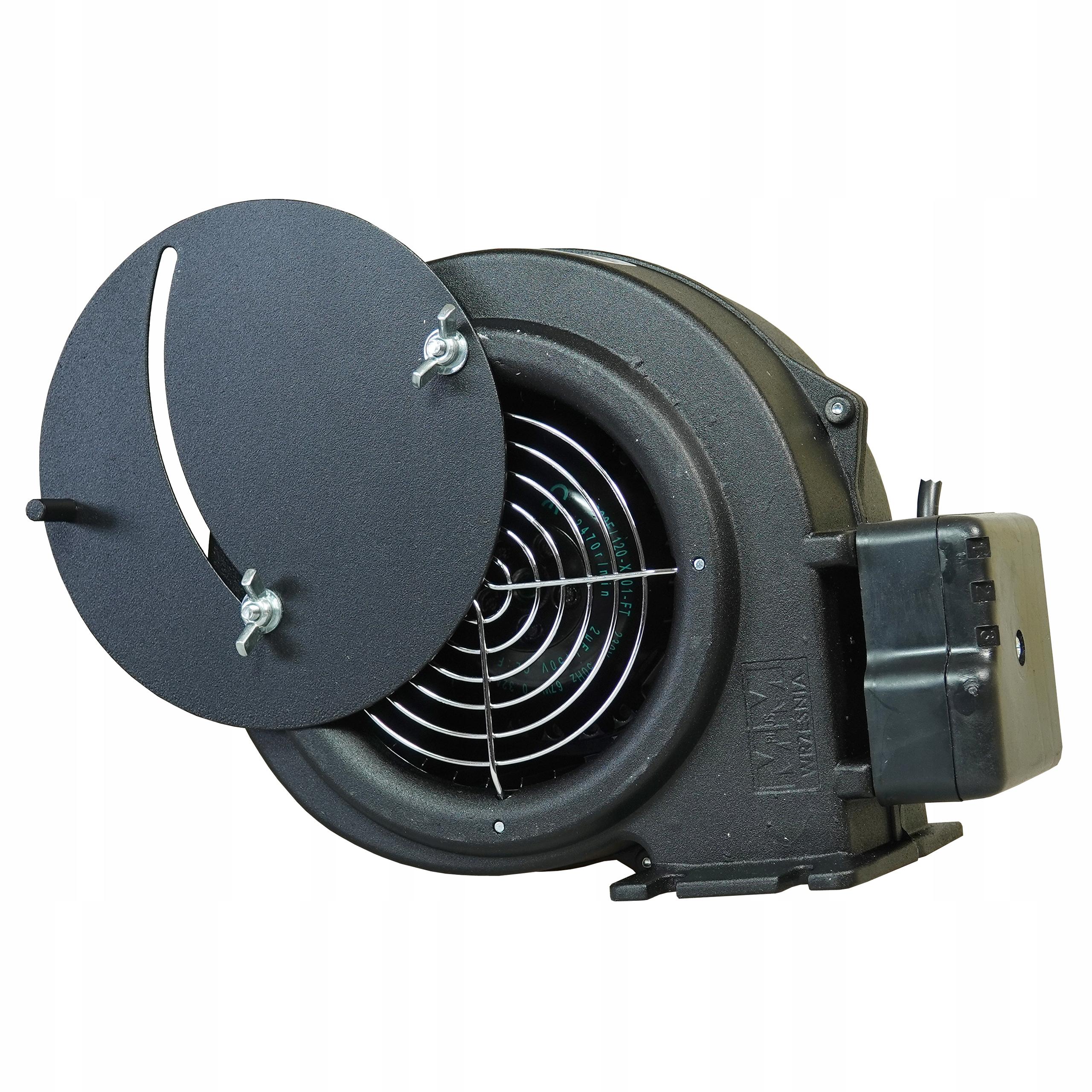 Ventilátor ventilátora pre pecný kotol WPA x6 / WBS 6a značky MPlusM