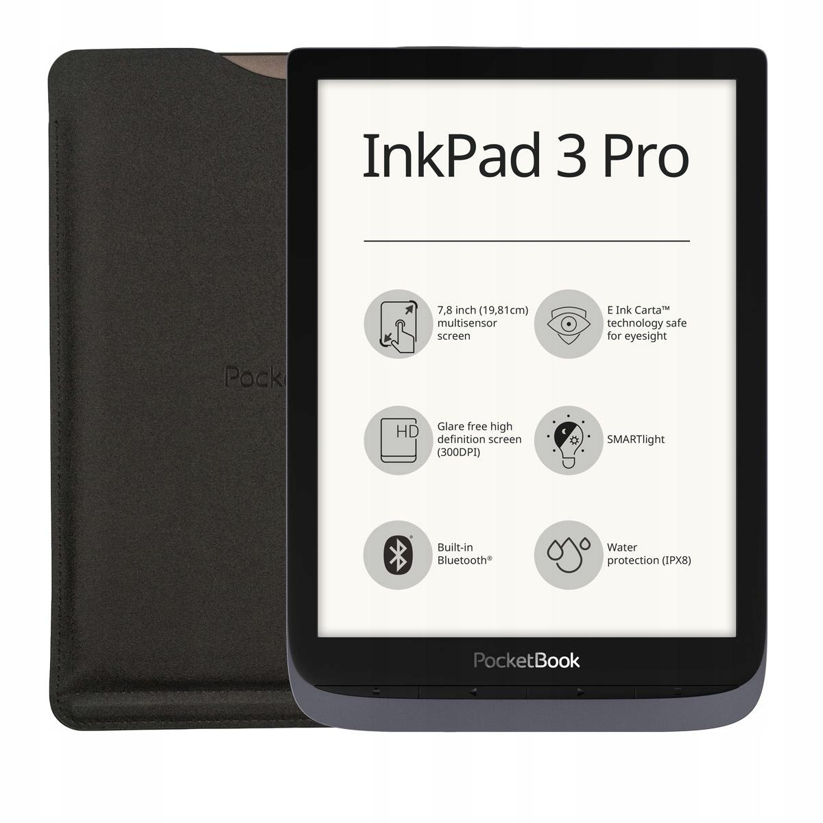 PocketBook InkPad 3 Pro z Case + Case