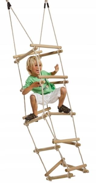 Купить Лестница веревочная четырехсторонняя для детской площадки, КБТ на Otpravka - цены и фото - доставка из Польши и стран Европы в Украину.