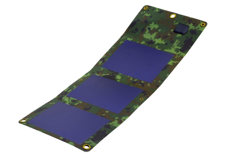 Solárny panel 3W flexy skladacie kamufláž PowerNeed