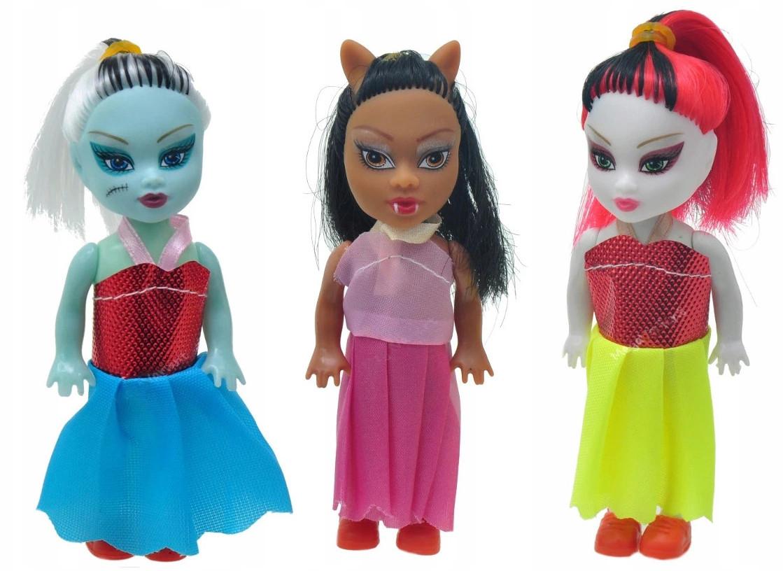 Monster Vampire Doll 3 Dolls 12cm