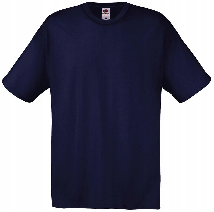 T SHIRT KOSZULKA FRUIT OF THE LOOM deep navy L