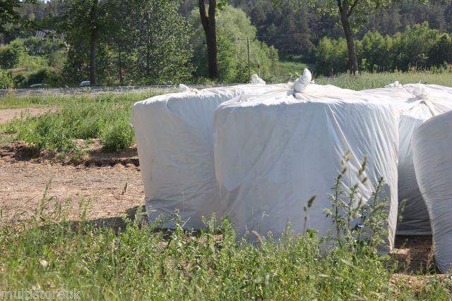 Мешки, мешок сенажа, тюки 120 130 особо толстые