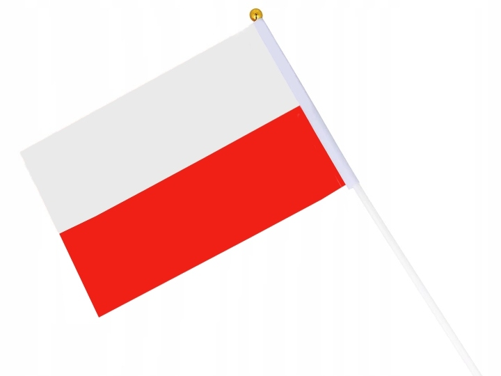 FLAGA POLSKA POLSKI CHORĄGIEWKA MATERIAŁOWA V1