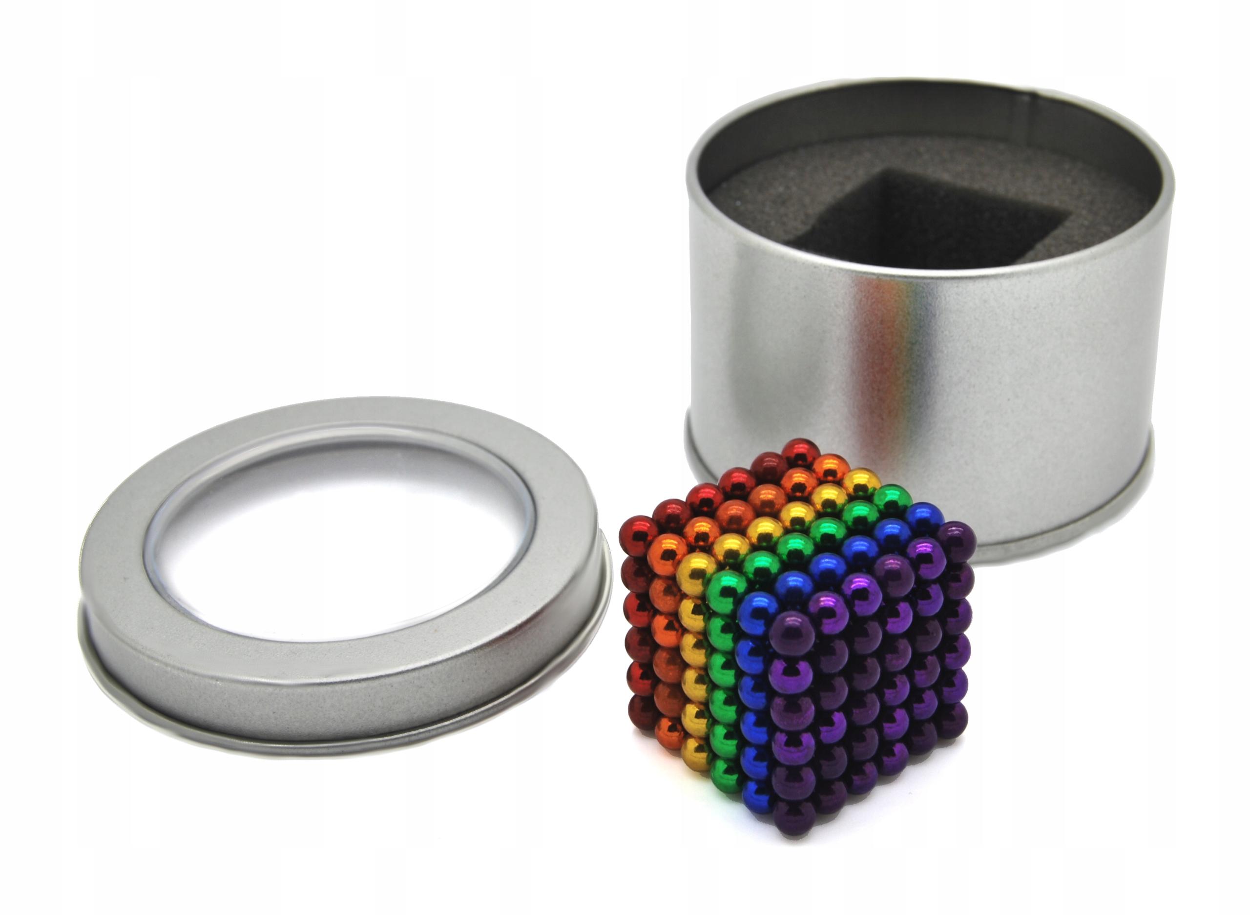 NEOCUBE BLOCKS MAGNETIC BALLS 5 mm 216 RAINBOW