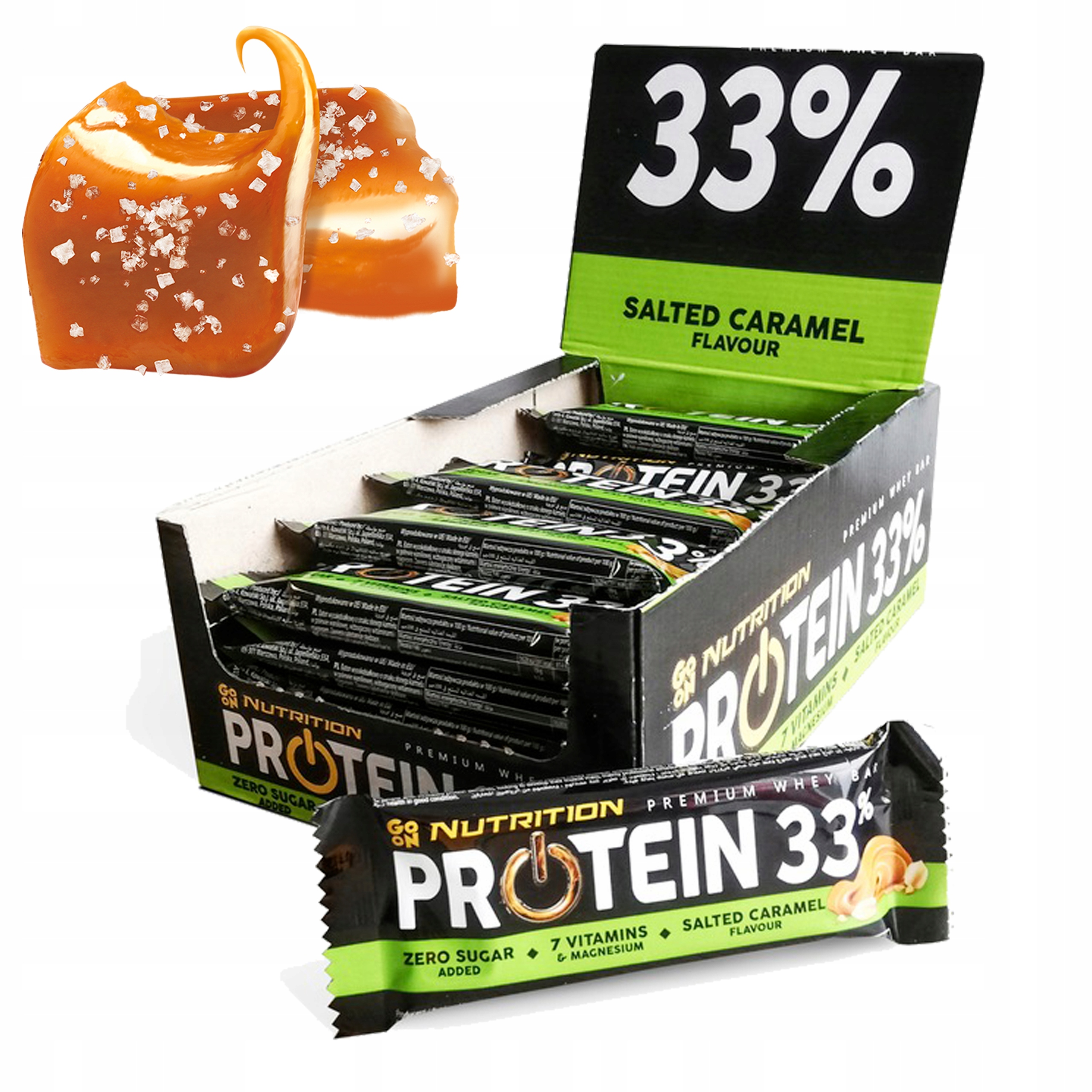 JE TO NUTRITION PROTEIN BAR 33% 25x50g BOX BIELKOVÍN