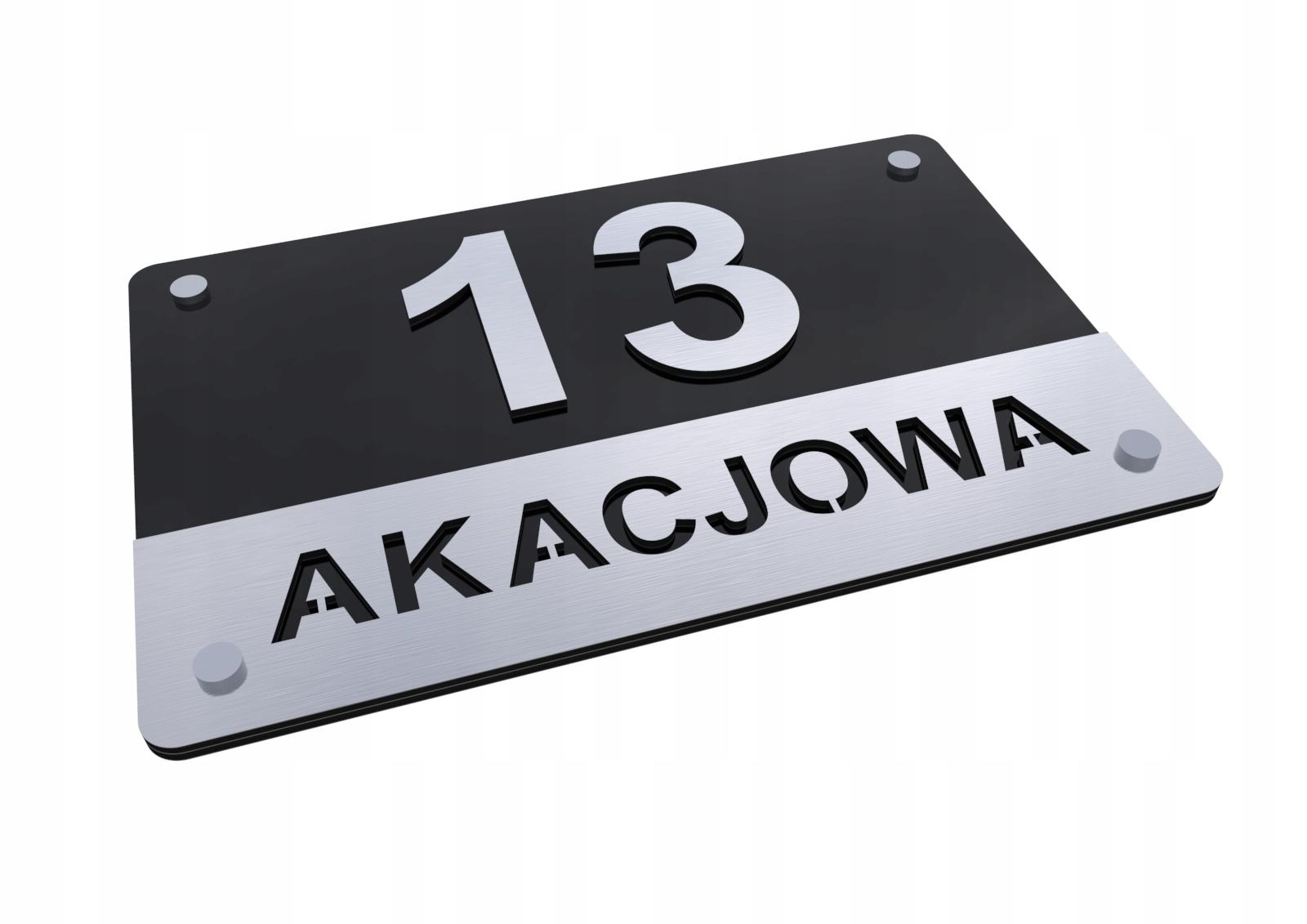 Купить Табличка адресная АЛЮМИНИЙ 3D Номер дома T1 на Otpravka - цены и фото - доставка из Польши и стран Европы в Украину.