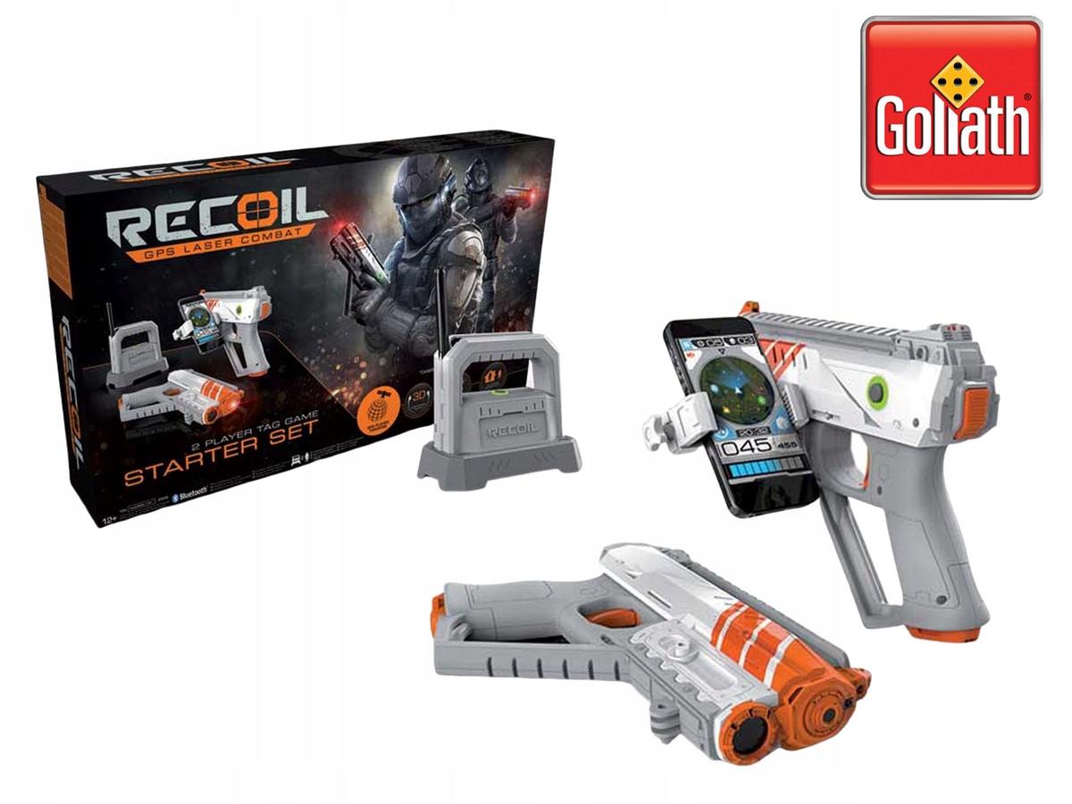 Goliath Recoil GPS laserová bojová štartovacia súprava