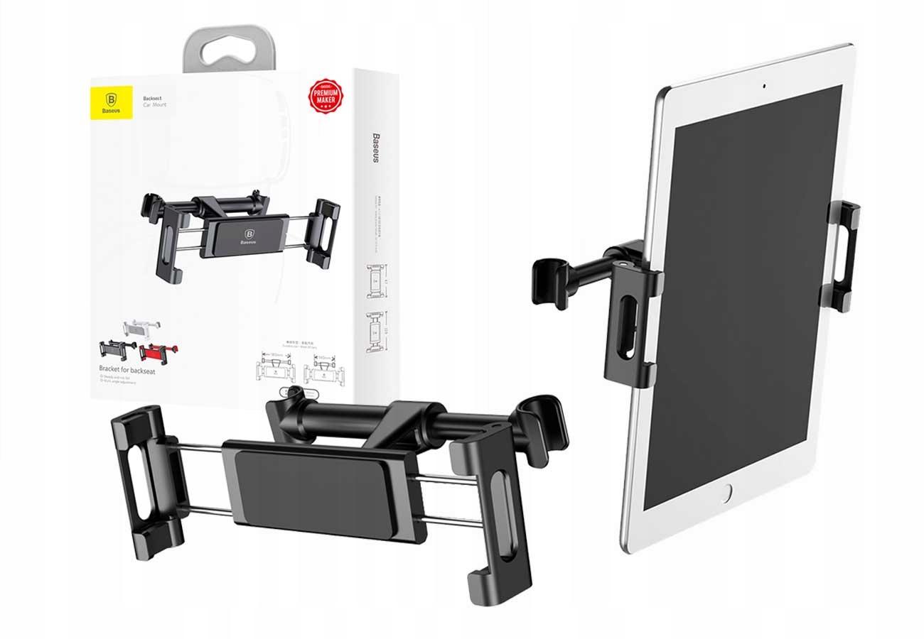 Baseus Uchwyt Samochodowy Zagłówek Tablet Telefon