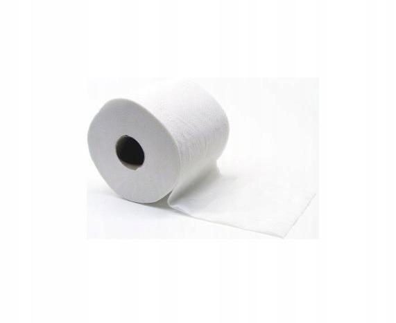 Papier toaletowy 2 warstwowy biały 50m miękki